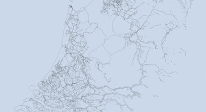 DNL 20141125 de dijkenkaart van Nederland zwart wit