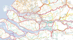 DNL 20140825 de dijkenkaart van Nederland detail schaal 200